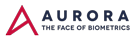 Aurora – The face of Biometrics Mobile Logo