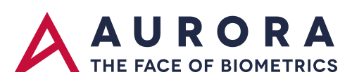 Aurora – The face of Biometrics Sticky Logo Retina