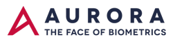 Aurora – The face of Biometrics Sticky Logo